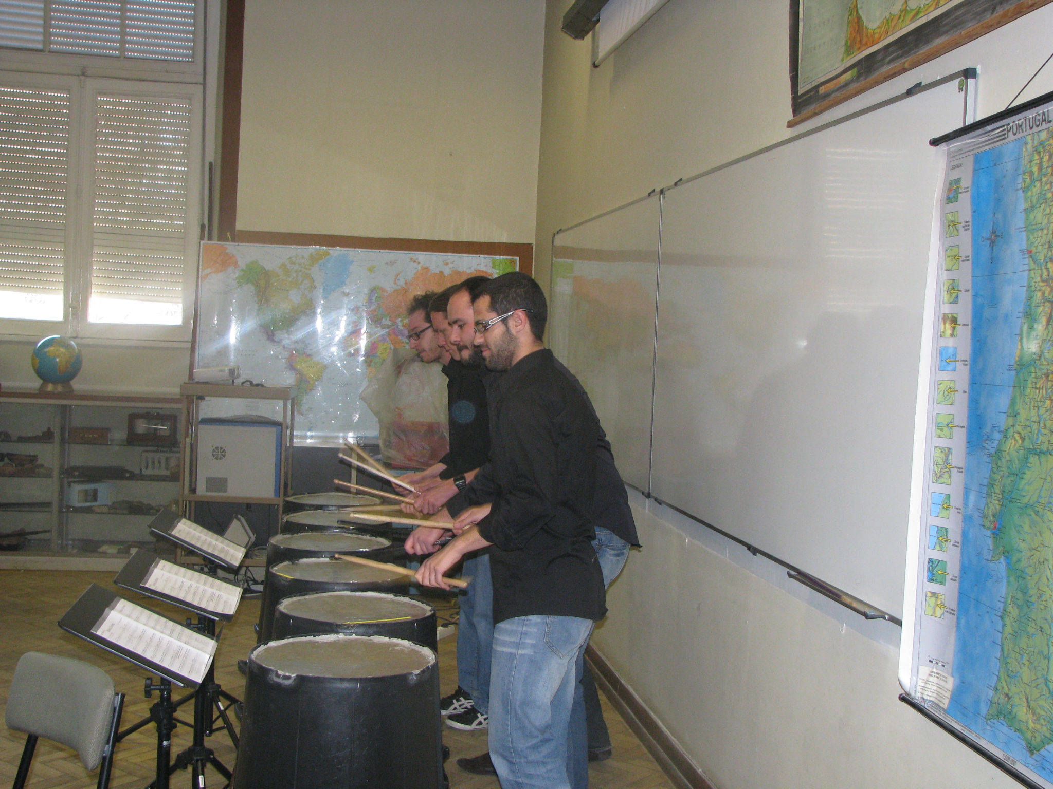 Concerto e Workshop no Liceu CamõesConcert and Workshop at Liceu Camões