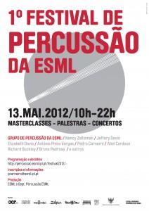 1º Festival de Percussão da ESML