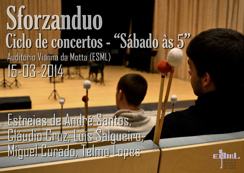 """Sforzanduo - Ciclo de Concertos """"Sábados às 5"""""""