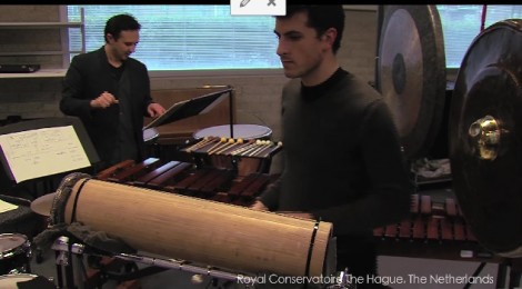 Percussion department of the Royal Conservatoire The Hague