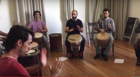 VIDEO: Introdução à percussão Mandingue (Djembé)