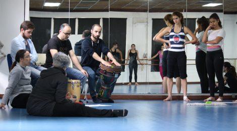 XVIII Mostra Dança FMH: Colaboração Percussão@ESML