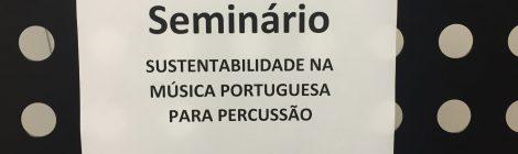 (ii) Sustentabilidade na Música Portuguesa para Percussão