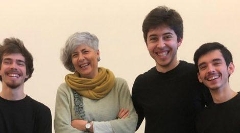 Masterclasse Profª Alessandra Giura // Conservatório de Cagliari (Itália)