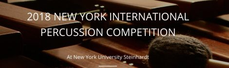 New York International Percussion Competition