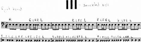 Peters - Nº 3 - caixa (inverted roll)