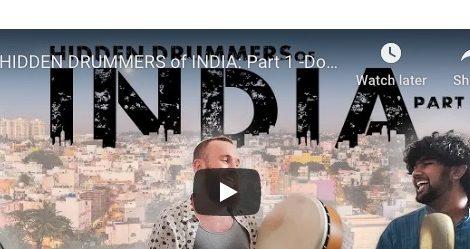 HIDDEN DRUMMERS of INDIA